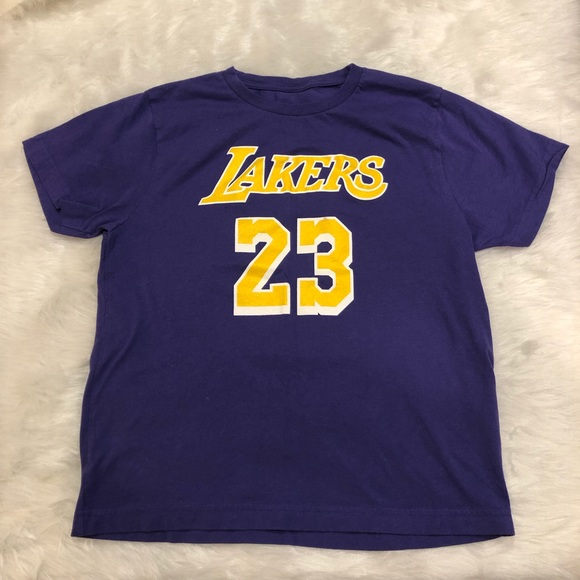 huge selection of 09395 87df9 Lebron James Lakers T-shirt